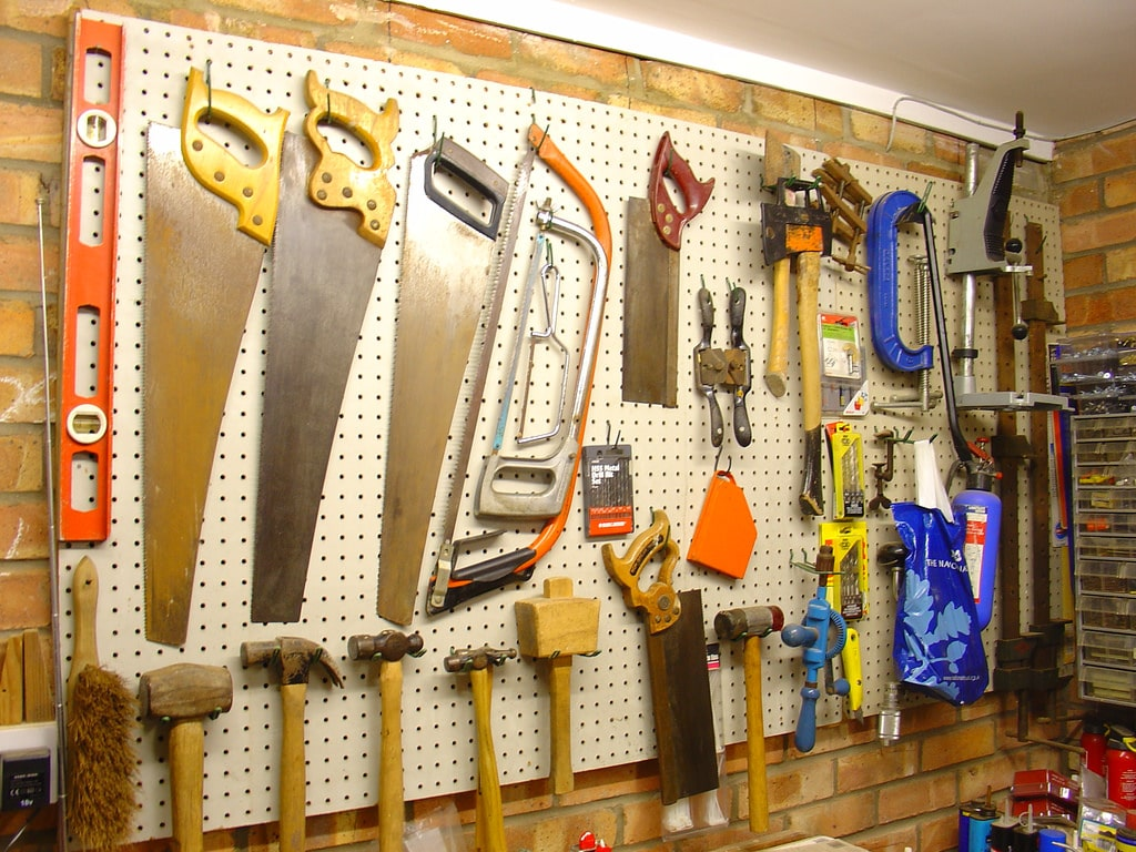 How to Organize Tools In Workshop or Garage