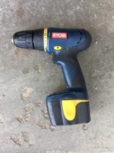 My Old Cordless Drill - Difference Between a Drill and a Driver