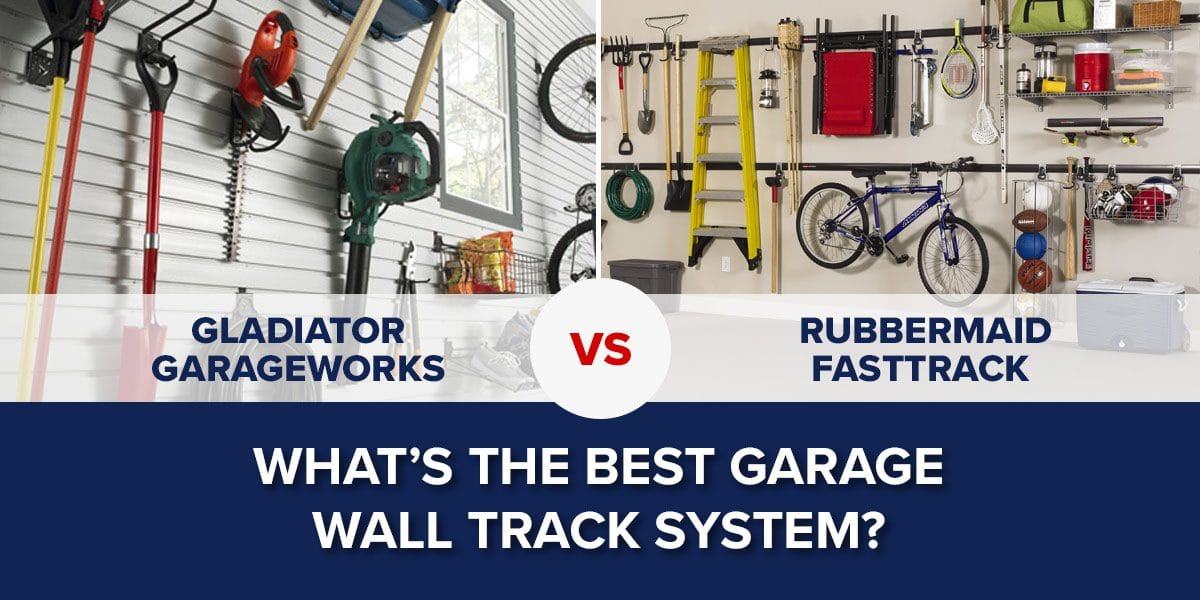What's the Best Garage Wall Track System?